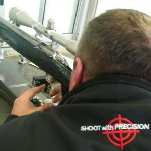Matt Shooting in a America Rimfire Association 22LR Match at Dallas Gun Club 100 Yard Range