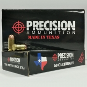 Precision Ammunition 380 Auto 100GR CMJ Box (50 rds)